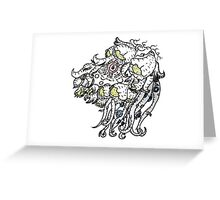 Garden of the Octopus Greeting Card