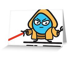 Drupal Jedi Greeting Card