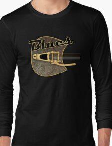Blues  rusty  Guitar Long Sleeve T-Shirt