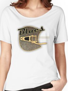 Blues  rusty  Guitar Women's Relaxed Fit T-Shirt