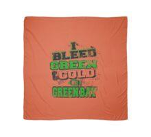 I Bleed Green & Gold Go Greenbay Scarf