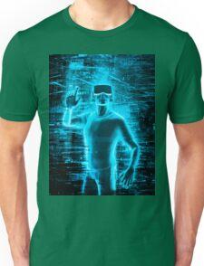 Virtual Reality User Unisex T-Shirt