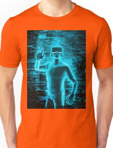 Virtual Reality User Unisex T-Shirt