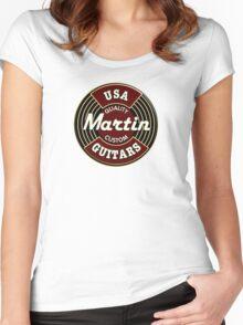 Martin guitars Women's Fitted Scoop T-Shirt