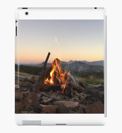 Scenic Flames iPad Case/Skin
