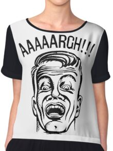 AAAAARGH!!! Women's Chiffon Top