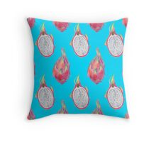 Dragon Fruit pattern Throw Pillow