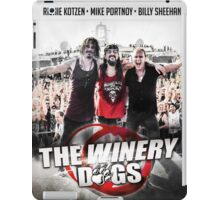 the winery dogs live concert wulan iPad Case/Skin