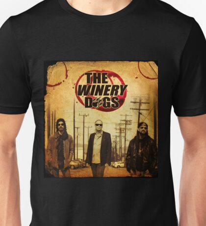 the winery dogs three concert wulan Unisex T-Shirt