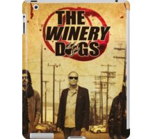 the winery dogs three concert wulan iPad Case/Skin