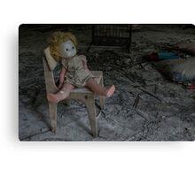 Chernobyl pripyat doll  Canvas Print