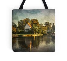 The River At Goring on Thames Tote Bag