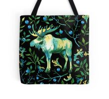 Watercolor elk Tote Bag