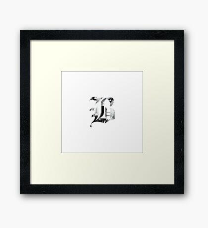 Beartooth Aggressive Logo Framed Print