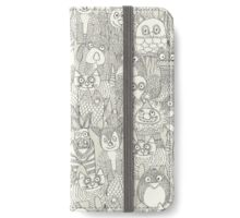 pencil pinatas ivory iPhone Wallet/Case/Skin