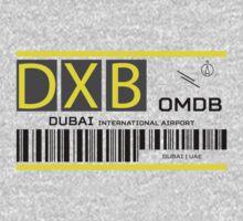 Destination Dubai Airport Kids Tee
