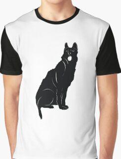 Black bull terrier Graphic T-Shirt