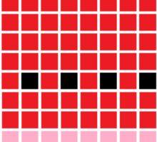 8 bit pixel watermelon Sticker