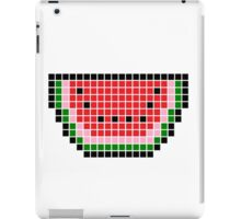 8 bit pixel watermelon iPad Case/Skin