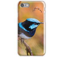 Superb Fair Wren iPhone Case/Skin