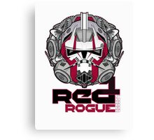 Star Wars RED 1 Rogue Leader Canvas Print