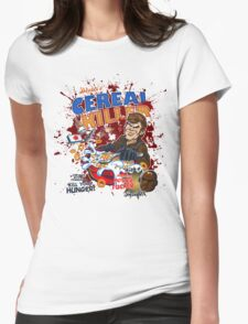 Dexter's Cereal Killer! Womens Fitted T-Shirt