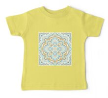 Symmetry blue and yellow Baby Tee