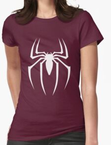 White Spider Womens Fitted T-Shirt