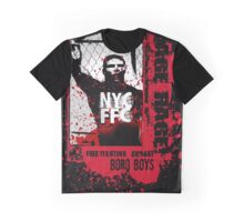 NYC CAGE RAGE Graphic T-Shirt