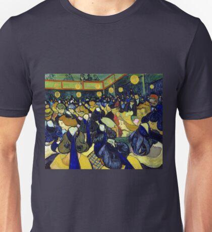 Vincent van Gogh The Dance Hall in Arles Unisex T-Shirt