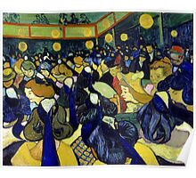 Vincent van Gogh The Dance Hall in Arles Poster