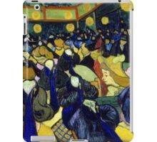 Vincent van Gogh The Dance Hall in Arles iPad Case/Skin