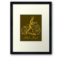 Ride Fixed Framed Print