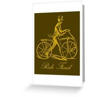 Ride Fixed Greeting Card