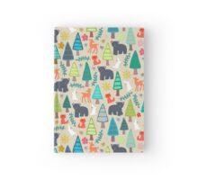 summer woodland Hardcover Journal