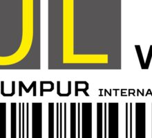 Destination Kuala Lumpur Sticker
