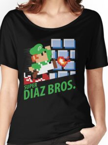Super Diaz Brothers (MMA, BJJ) Women's Relaxed Fit T-Shirt