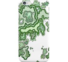 Green CrossSection iPhone Case/Skin