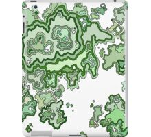 Green CrossSection iPad Case/Skin