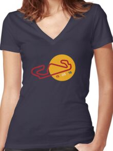 Max's First Win Women's Fitted V-Neck T-Shirt