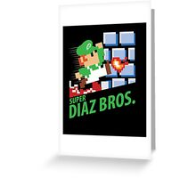 Super Diaz Brothers (MMA, BJJ) Greeting Card