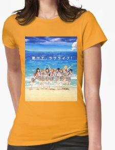 Love Live! Sunshine!! Shirt Womens Fitted T-Shirt