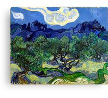 Vincent van Gogh The Olive Trees Canvas Print