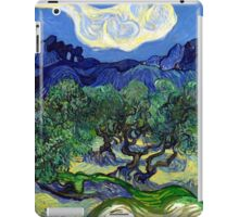 Vincent van Gogh The Olive Trees iPad Case/Skin