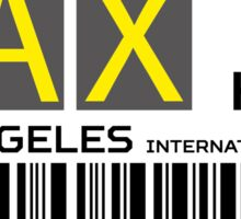 Destination Los Angeles Sticker