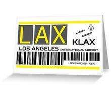 Destination Los Angeles Greeting Card