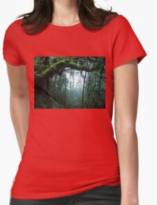 The Jungle Womens Fitted T-Shirt