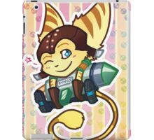 Cute and Deadly Fluffball iPad Case/Skin