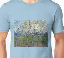 Vincent van Gogh The Pink Orchard Unisex T-Shirt