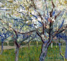Vincent van Gogh The Pink Orchard Sticker